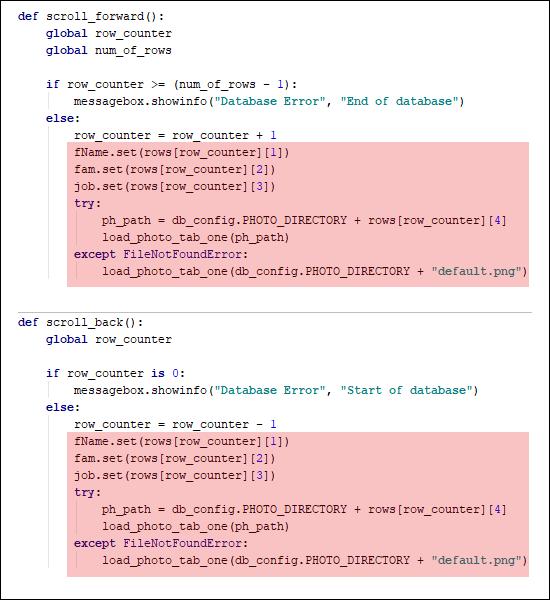 Duplicate Python code