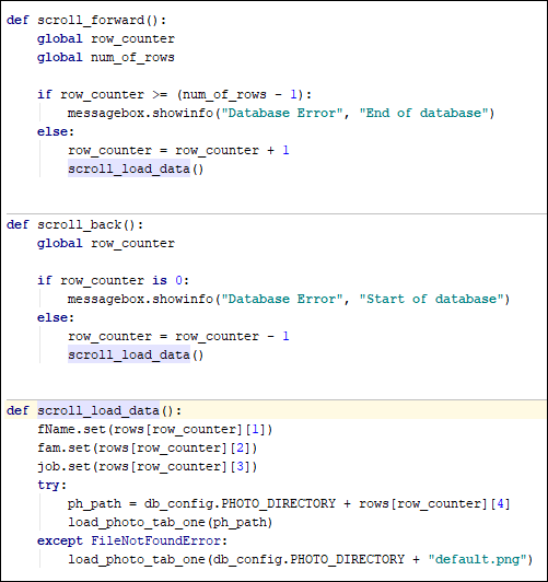 Adding a Python function to cut down on duplictae code