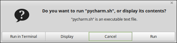 Running a sh file in Linux